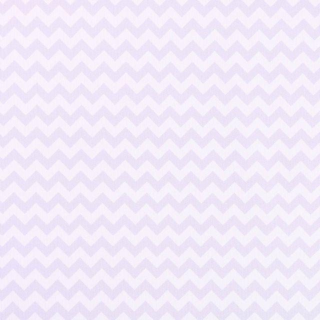 Tissu Piqué de Coton Chevrons parme sur fond Blanc - Par 10 cm