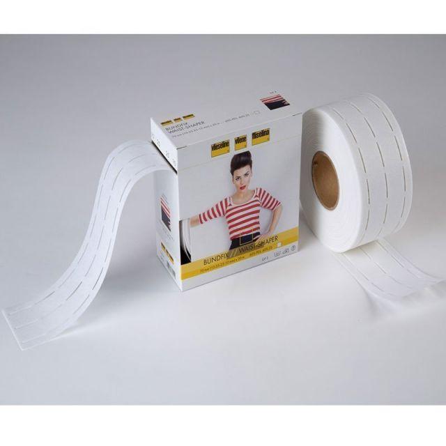 Bundfix Perfobande Vlieseline Blanc - Au mètre