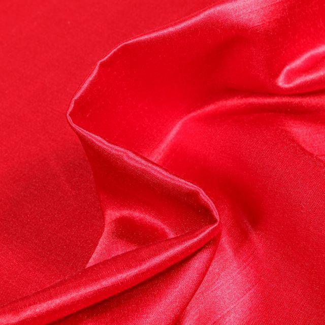Tissu Taffetas d'ameublement Bombyx Rouge
