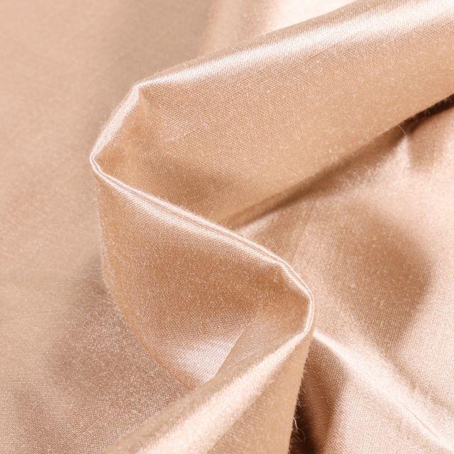 Tissu Taffetas d'ameublement Bombyx Beige