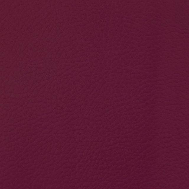 Simili cuir d'ameublement uni Pourpre - Par 50 cm