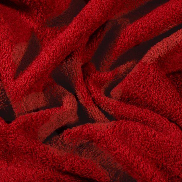 Tissu Eponge Premium 400 g/m² Bordeaux - Par 10 cm