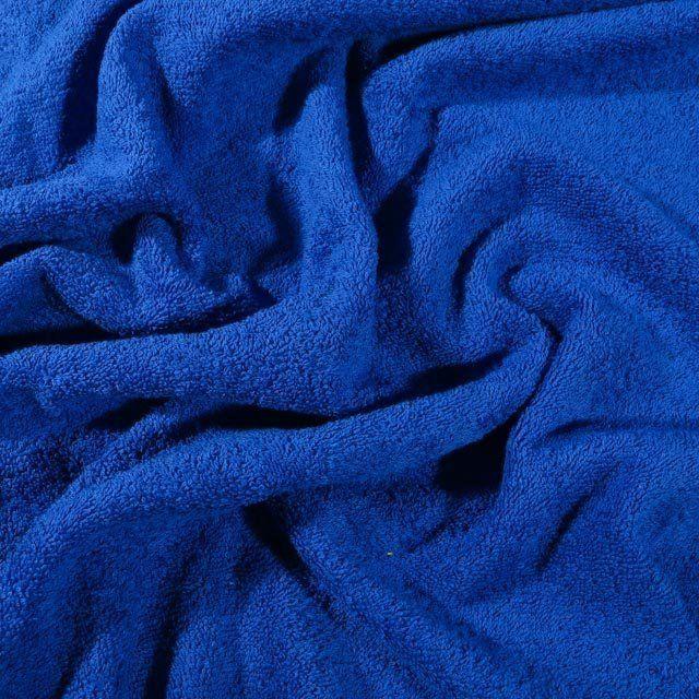 Tissu Eponge Premium 400 g/m² Bleu roi - Par 10 cm
