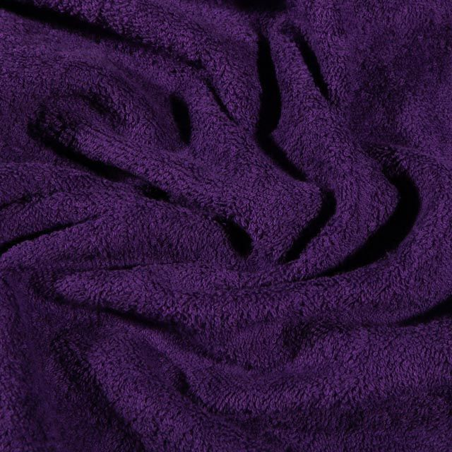 Tissu Eponge Premium 400 g/m² Violet - Par 10 cm