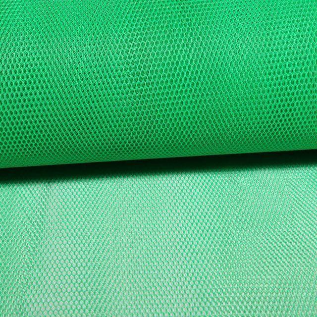 Tissu Tulle Rigide Vert Gazon - Au mètre
