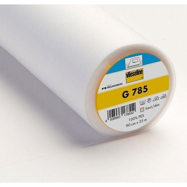 Entoilage Tissé Thermocollant Vlieseline G785 Blanc - Par 10 cm