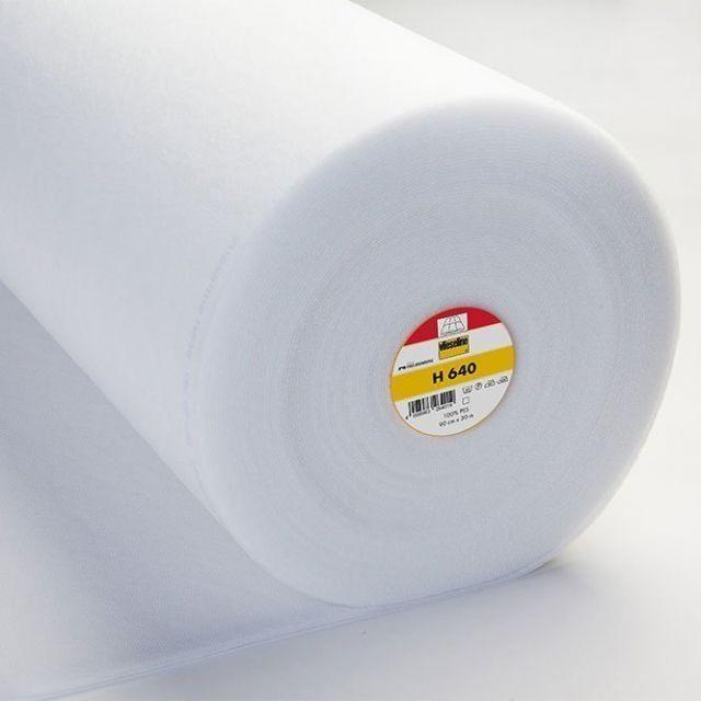 Molleton Thermocollant Vlieseline H640 - Par 10 cm