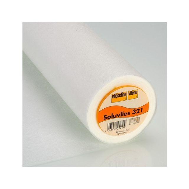 Entoilage Vlieseline Soluvlies soluble pour broderie - Par 10 cm