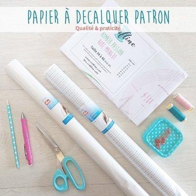 Papier à décalquer pour patrons de couture