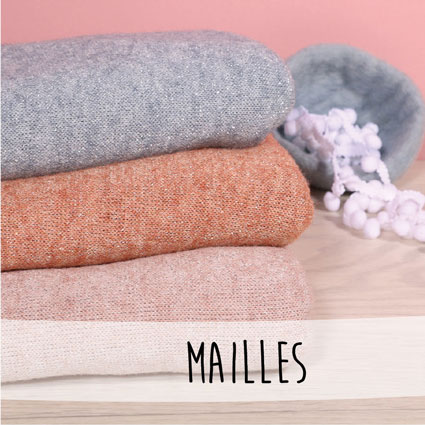 Nouveautés - Tissus Maille
