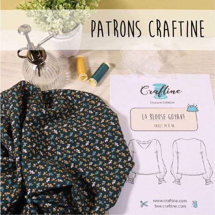 Nouveautés Patrons de couture Craftine
