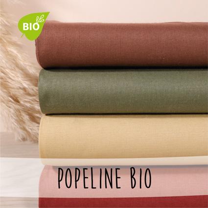 Nouveautés - Popeline bio