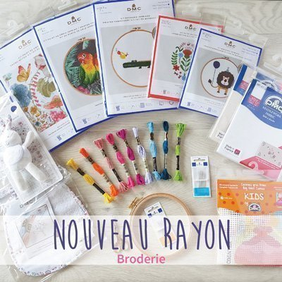 Nouvea Rayon Broderie