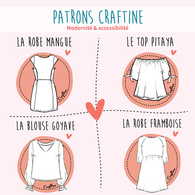 Patron de couture Craftine