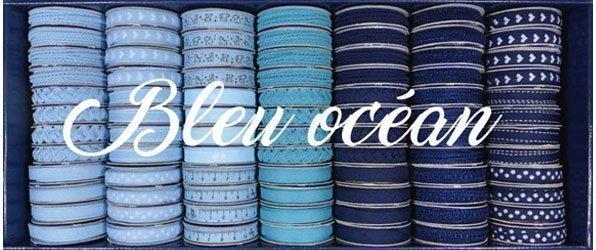 Bobinettes Rubans Bleu Océan