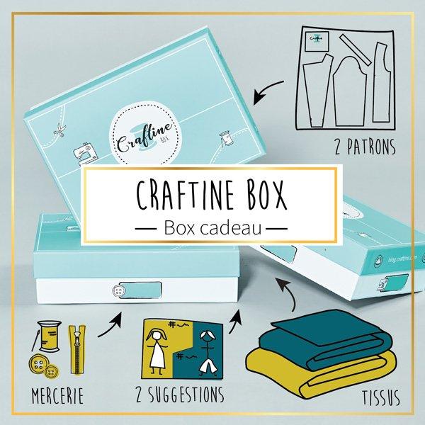 Offrez la Craftine Box pour Noël