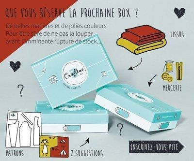 Abonnez-vous à la Craftine Box