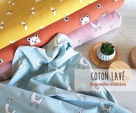 Nouveautés - Coton Lavé