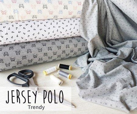 Nouveautés Tissus jersey polo