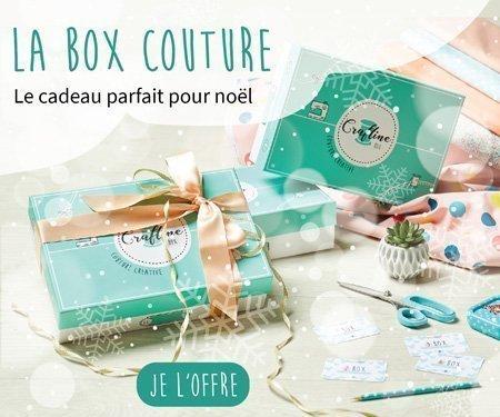 La box couture Craftine : le cadeau de Noël parfait