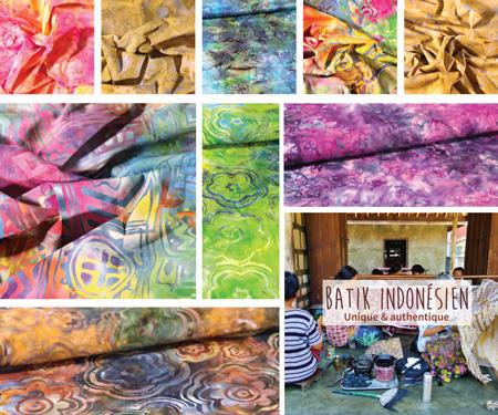 Nouveautés Batik indonésien