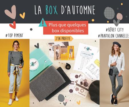 Inscrivez-vous vite pour recevoir la Craftine Box d'automne !