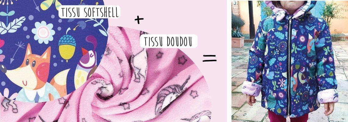 Tissus Softshell