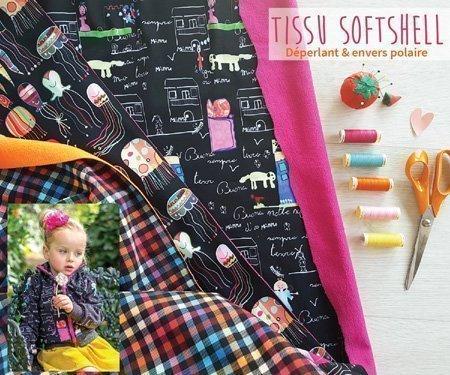 Tissus Softshell Hiver 2019-2020