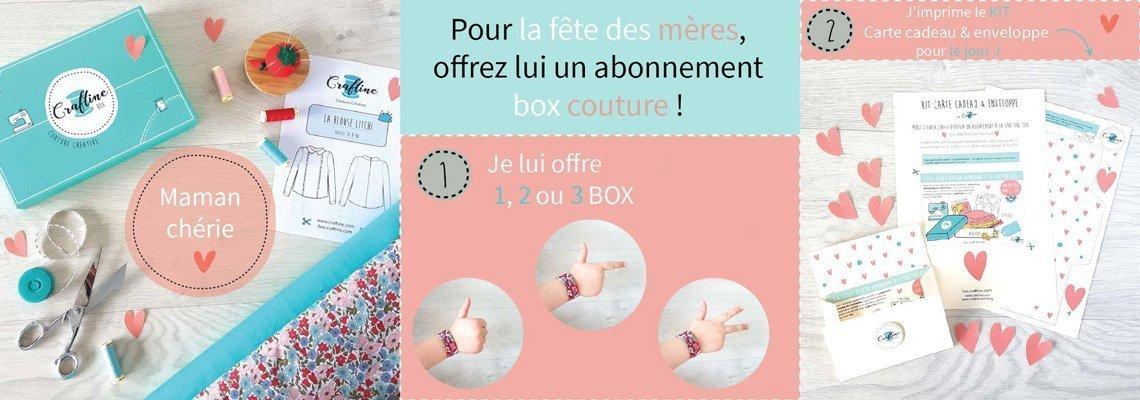 Fête des mères : offrez un abonnement à la Craftine Box