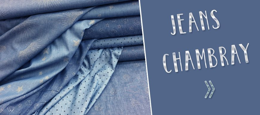 Tissus Chambray