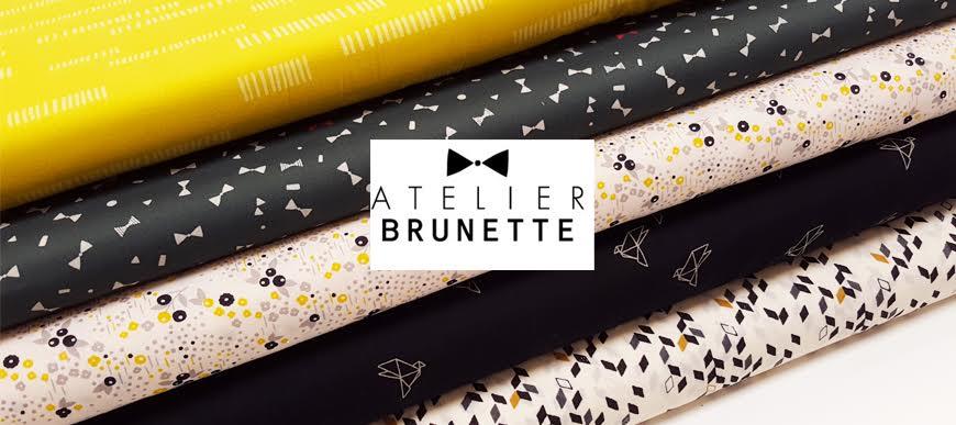 Batiste de coton Atelier Brunette