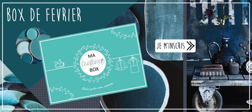 Craftine Box de février