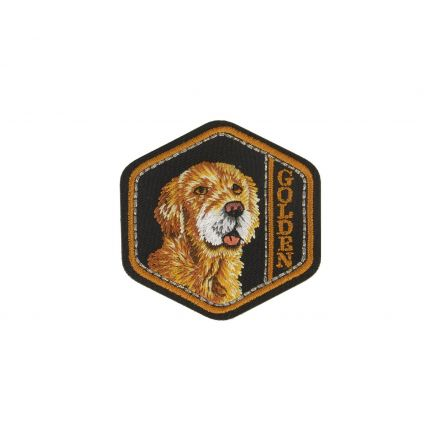 Ecusson Thermocollant Chien Golden