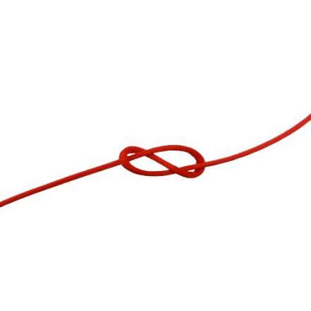 Cordon Queue de souris 2 mm Rouge x1m