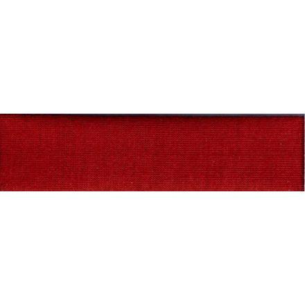 Biais replié Jersey 20 mm Rouge trafic x1m
