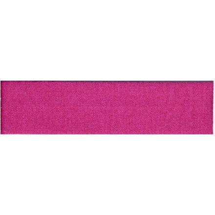 Biais replié Jersey 20 mm Rose Fushia x1m