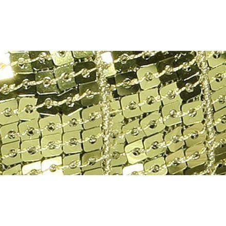 Galon Paillettes 22 mm Vert Paillettes x1m