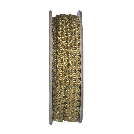 Ruban lurex Or - bobinette 2m