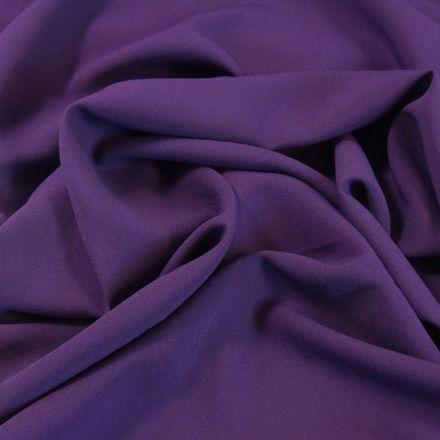 Tissu Crêpe Georgette Lilas x10cm