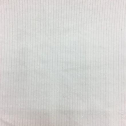 Tissu Velours Grosses côtes Blanc cassé - Par 10 cm