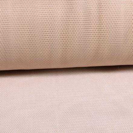 Tissu Tulle Rigide Beige - Au mètre