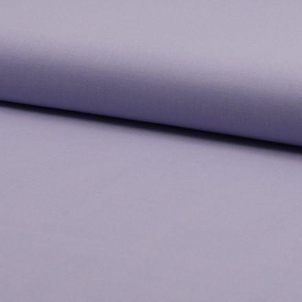 Tissu Voile de coton uni Lilas - Par 10 cm