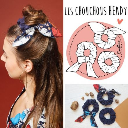 Kit Couture Craftine Chouchous Heady
