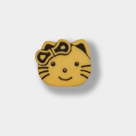 Bouton chat Pied 15 mm
