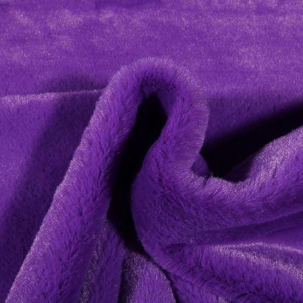 Tissu Fausse fourrure Bear Ultra douce Violet - Par 10 cm