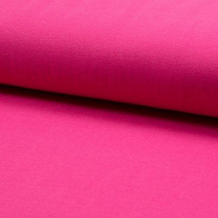 Tissu Jersey Piqué de coton spécial Polo Rose fuchsia - Par 10 cm