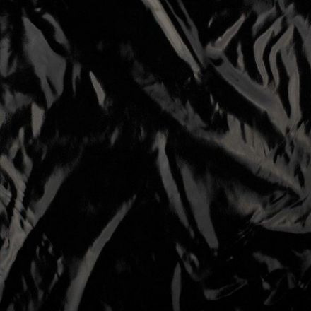 Tissu Lamé brillant Noir - Par 10 cm