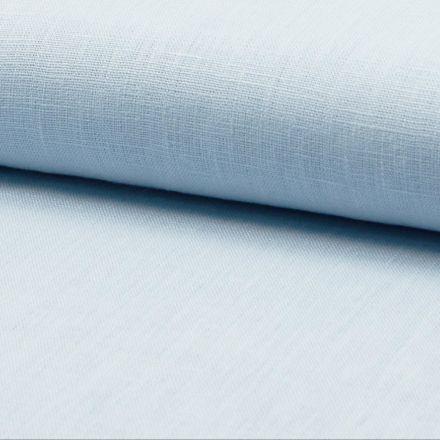 Tissu Lin Bleu ciel x10cm