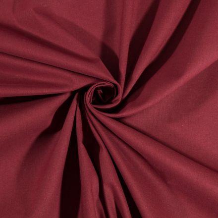 Tissu Coton uni Prune - Par 10 cm