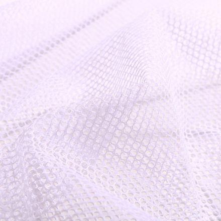 Tissu Filet Vrac mesh Blanc - Par 10 cm